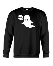 Cute Ghost Boo Funny Ghost Image Halloween Costume Crewneck Sweatshirt thumbnail