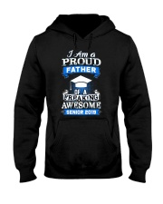 I am Proud Father Of Senior 2019 Funny Graduation Hooded Sweatshirt thumbnail
