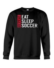 Eat Sleep Soccer Repeat Funny Sports Quote Gag Gif Crewneck Sweatshirt thumbnail