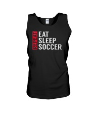 Eat Sleep Soccer Repeat Funny Sports Quote Gag Gif Unisex Tank thumbnail