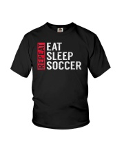 Eat Sleep Soccer Repeat Funny Sports Quote Gag Gif Youth T-Shirt thumbnail