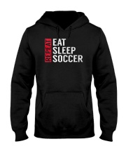 Eat Sleep Soccer Repeat Funny Sports Quote Gag Gif Hooded Sweatshirt thumbnail