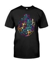 Basmala Islamic Arabic Quran In The Name Of God Classic T-Shirt thumbnail