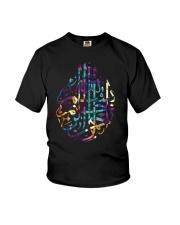 Basmala Islamic Arabic Quran In The Name Of God Youth T-Shirt thumbnail
