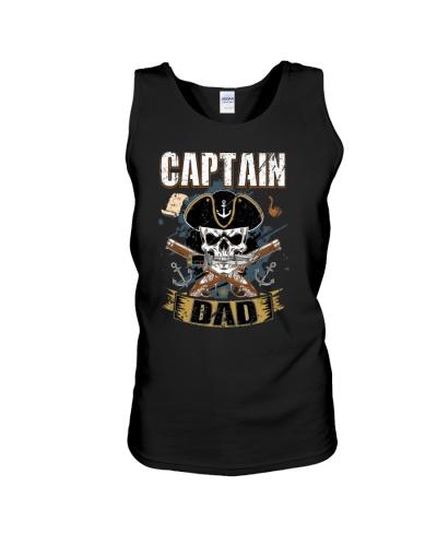Funny Captain Dad Pirate Lover Fun Halloween Costu