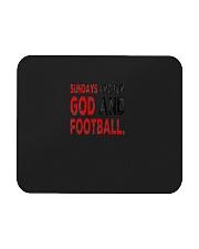 Sundays Are For God And Football Christian Gift Mousepad thumbnail