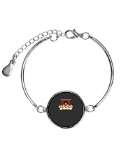 Funny Doggie Lover Cute Puppy 2018 New Year Gifts Metallic Circle Bracelet thumbnail