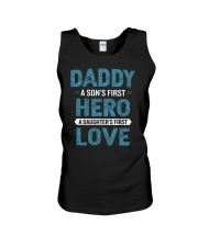 Daddy A Son is First Hero A Daughter is First Love Unisex Tank thumbnail