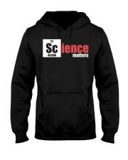 Funny Science Teacher Periodic Table Apparel 5 Hooded Sweatshirt thumbnail
