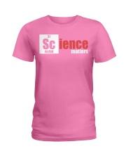 Funny Science Teacher Periodic Table Apparel 5 Ladies T-Shirt thumbnail