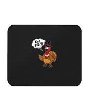 Eat Pizza Funny Turkey Thanksgiving Day Pilgrim Mousepad thumbnail