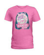 Halloween Math Teacher Costume Funny Sarcastic Ladies T-Shirt tile