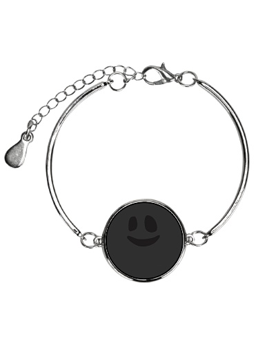 Ghost Face Funny Smile  Halloween Lazy Costume