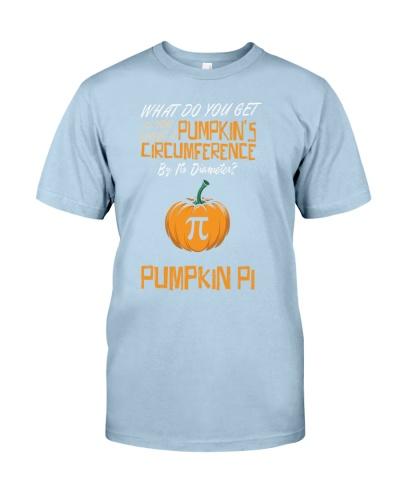 Funny Pumpkin Pi Pun 314 Math Geek Gag Gift