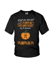 Funny Pumpkin Pi Pun 314 Math Geek Gag Gift Youth T-Shirt thumbnail