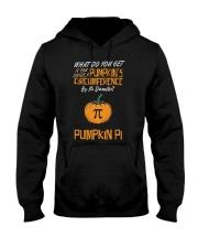 Funny Pumpkin Pi Pun 314 Math Geek Gag Gift Hooded Sweatshirt thumbnail