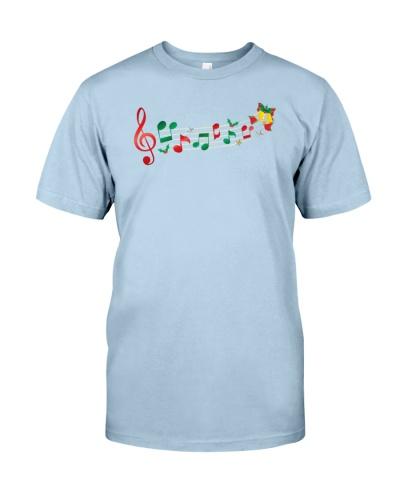 Funny Christmas Treble Clef Music Notes Jingle Bel