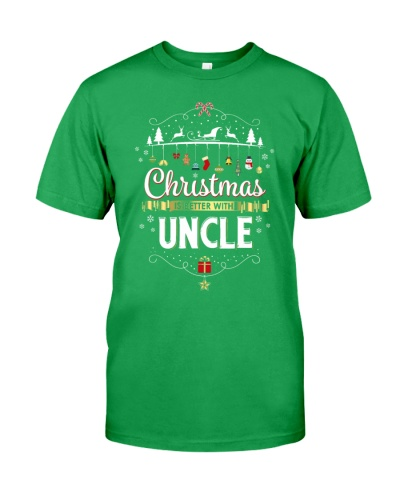 Christmas Is Better With Uncle Matching Family Gif