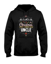 Christmas Is Better With Uncle Matching Family Gif Hooded Sweatshirt thumbnail