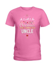Christmas Is Better With Uncle Matching Family Gif Ladies T-Shirt thumbnail