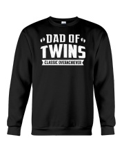 Dad Of Twins Classic Overachiever Expecting Daddy  Crewneck Sweatshirt thumbnail