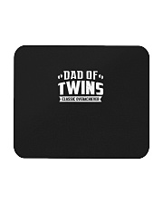 Dad Of Twins Classic Overachiever Expecting Daddy  Mousepad front