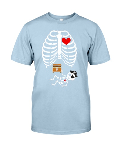 Funny Pirates Baby Skeleton Halloween Pregnancy