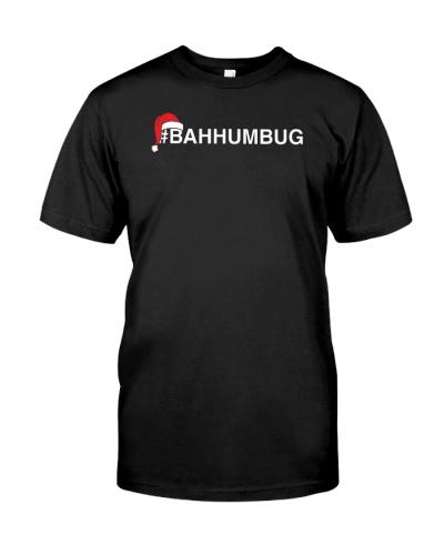 Bahhumbug Hashtag Bah Humbug Santa Hat Grumpy Hate