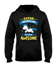 Down Syndrome Awareness Apparel Extra Chromosome U Hooded Sweatshirt thumbnail