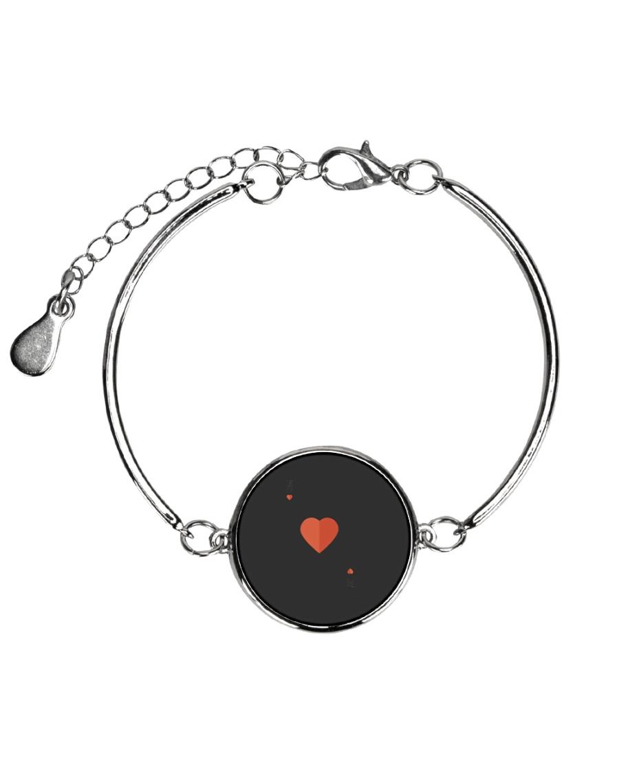 Ace Of Hearts Halloween Costume Love Lazy Sarcasti Metallic Circle Bracelet