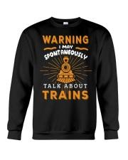 Funny Train Conductor Train Gift Crewneck Sweatshirt thumbnail