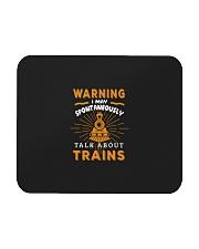 Funny Train Conductor Train Gift Mousepad thumbnail