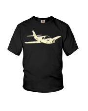 Airplane  Cool Plane Aeroplane Kids Aviation Youth T-Shirt thumbnail