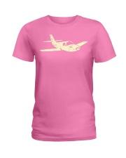 Airplane  Cool Plane Aeroplane Kids Aviation Ladies T-Shirt thumbnail