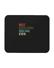 Best Beer Loving Dog Dad Ever Funny Dog Lover Drin Mousepad thumbnail