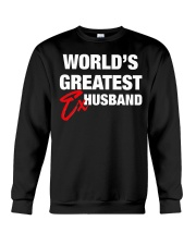 World is Greatest Husband Crewneck Sweatshirt thumbnail