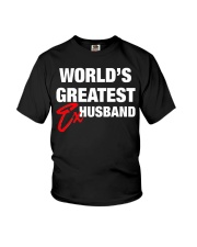 World is Greatest Husband Youth T-Shirt thumbnail