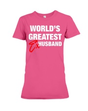 World is Greatest Husband Premium Fit Ladies Tee thumbnail
