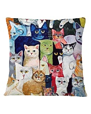Cat Love Square Pillowcase tile