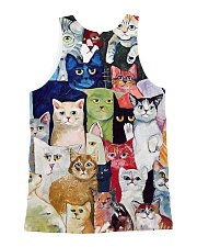 Cat Love All-over Unisex Tank back