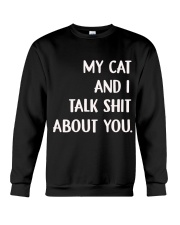 Cat Crewneck Sweatshirt front