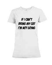 Cat Premium Fit Ladies Tee tile