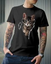 Cat Classic T-Shirt lifestyle-mens-crewneck-front-6