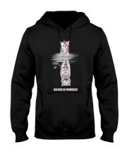 Believe in Yourself Hooded Sweatshirt front