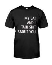 Cat Classic T-Shirt front