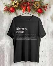 Kitten Classic T-Shirt lifestyle-holiday-crewneck-front-2