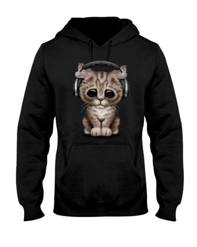 Cute Cat DJ