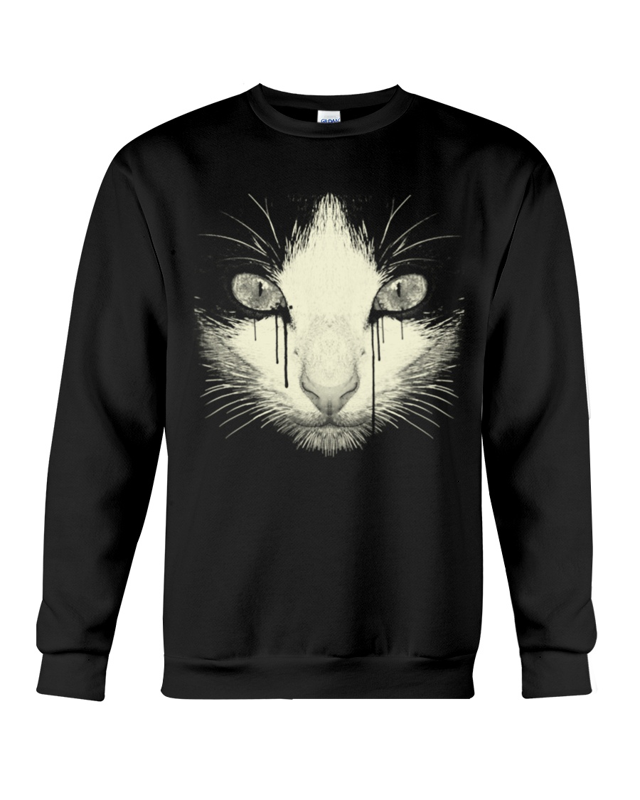 Black Cat Crewneck Sweatshirt