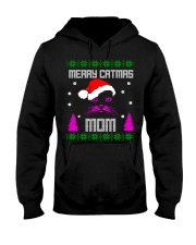 Merry Christmas Kitty Mom Hooded Sweatshirt tile