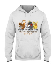 Cat Love  Hooded Sweatshirt thumbnail